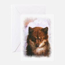 Oosisoak Artic Dog Greeting Card