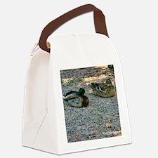 domestic ducks Canvas Lunch Bag