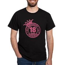 Birthday Princess 18 years T-Shirt