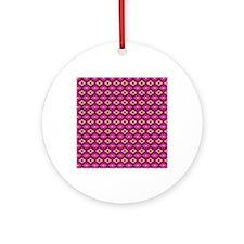 king_duvet Round Ornament