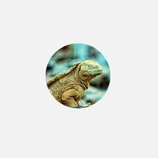 desert lizard Mini Button