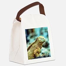 desert lizard Canvas Lunch Bag