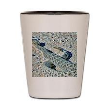 diamondback rattlesnake Shot Glass