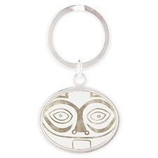 TSAGAGLALAL Oval Keychain