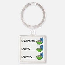 A Nutritionally Balanced Diet - Ce Square Keychain