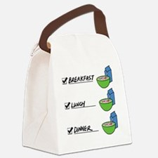 A Nutritionally Balanced Diet - C Canvas Lunch Bag