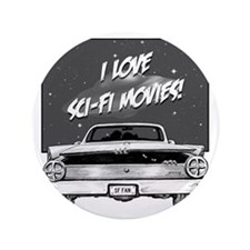 "Sci-Fi Movies 3.5"" Button"