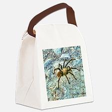 hairy tarantula Canvas Lunch Bag