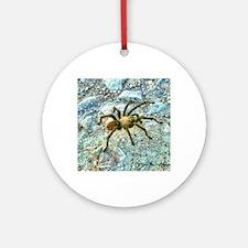 hairy tarantula Round Ornament