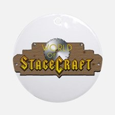 World Of Stagecraft Ornament (Round)