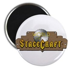 """World Of Stagecraft 2.25"""" Magnet (100 pack)"""