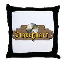 World Of Stagecraft Throw Pillow