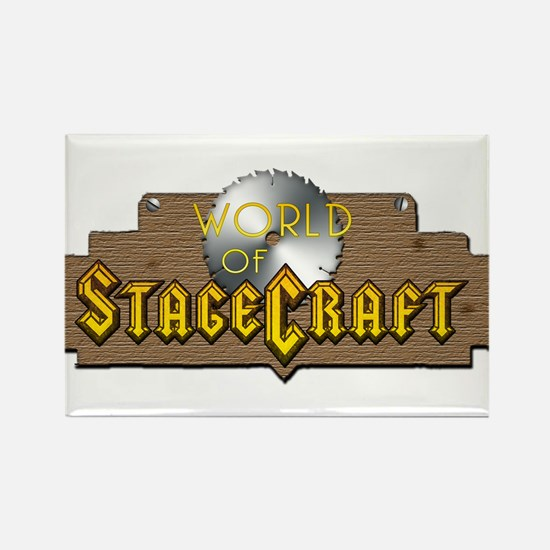 World Of Stagecraft Rectangle Magnet