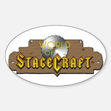 World Of Stagecraft Oval Decal