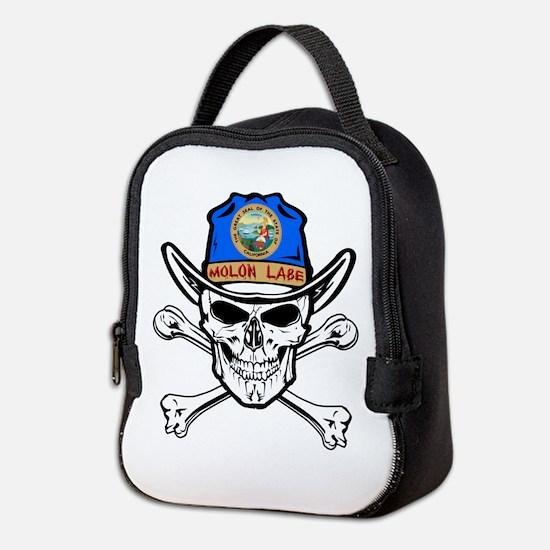 California Molon Labe Neoprene Lunch Bag