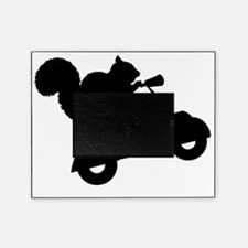 Squirrel on Scooter Picture Frame