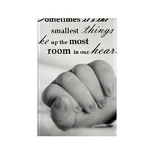 Smallest things Rectangle Magnet