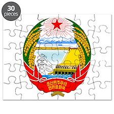 Emblem of North Korea Puzzle