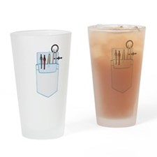 GIS Pocket Protector Drinking Glass