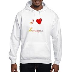 I Love Sorsogon Gifts Hoodie