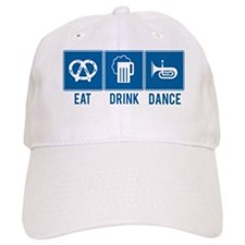 Oktoberfest Eat Drink Dance Baseball Cap