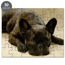 FRENCH BULLDOG LYING DOWN Puzzle