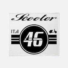 VESPA ITALIA 46 Throw Blanket