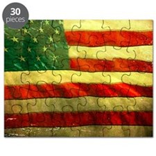 Patriotic Vintage Puzzle