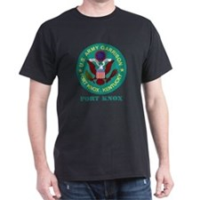 Fort Knox with Text T-Shirt