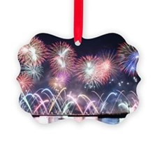 Fireworks display finale Ornament