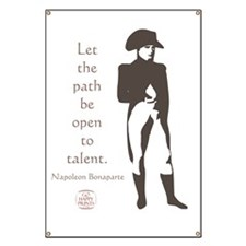 Let the path be open to talent Banner