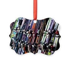 Skis Ornament