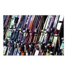 Skis Postcards (Package of 8)