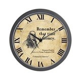 Ben franklin Wall Clocks