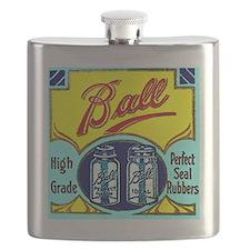 Vintage Ball Ideal Fruit Jar Canning Mason R Flask