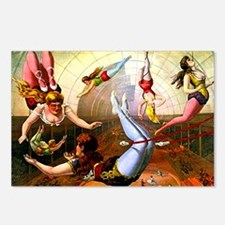 Vintage Flying Trapeze La Postcards (Package of 8)