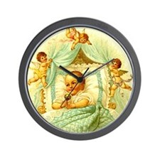 Vintage Victorian New Baby Shower Gift  Wall Clock