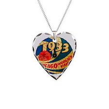 Vintage 1933 Chicago World's  Necklace
