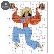 Girl with Maracas Puzzle