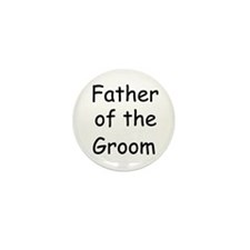 Father of the Groom Mini Button (10 pack)