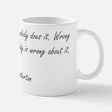 Right  Wrong Mug