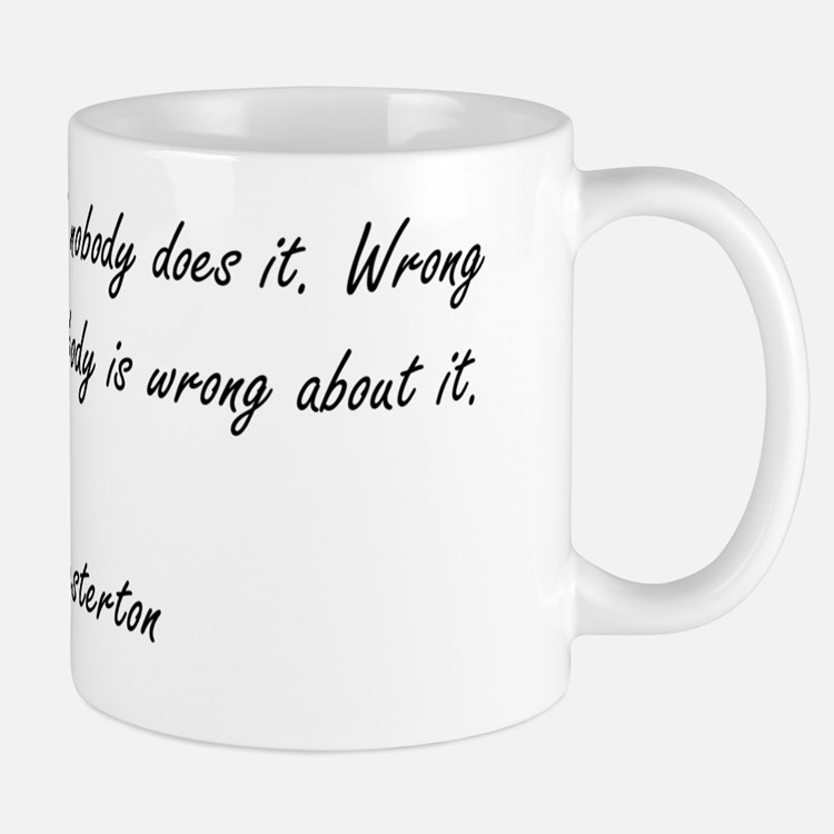 Right  Wrong Mug