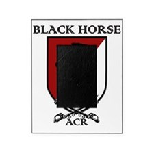 Black Horse Picture Frame