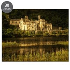 KYLEMORE ABBEY, COUNTY GALWAY, EIRE Puzzle