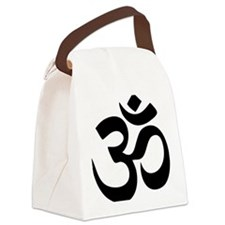 Om Aum Canvas Lunch Bag