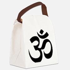Om Aum Canvas Lunch Bag