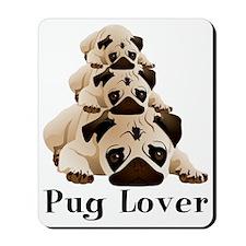 Pug Lover Mousepad