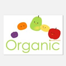 Organic Fruits 2 Postcards (Package of 8)