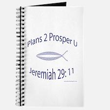 Plans To Prosper You Jeremiah 29 Journal