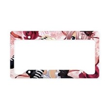 Anime Emo Girl License Plate Holder